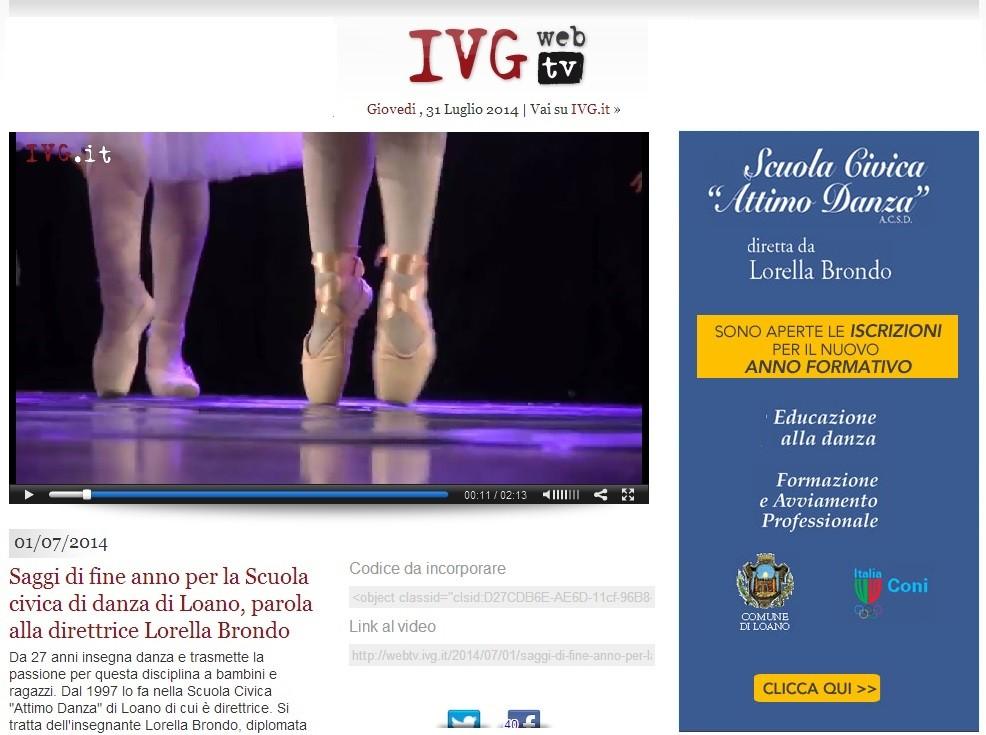 screen webtv con banner