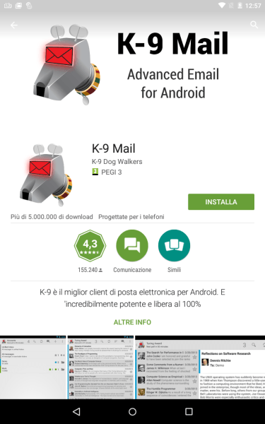 Android - Edinet